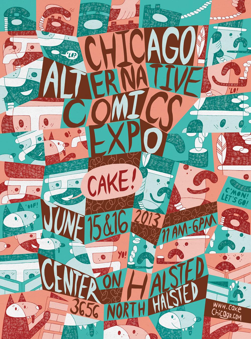 chicago alternative comics expo - HD1000×1349