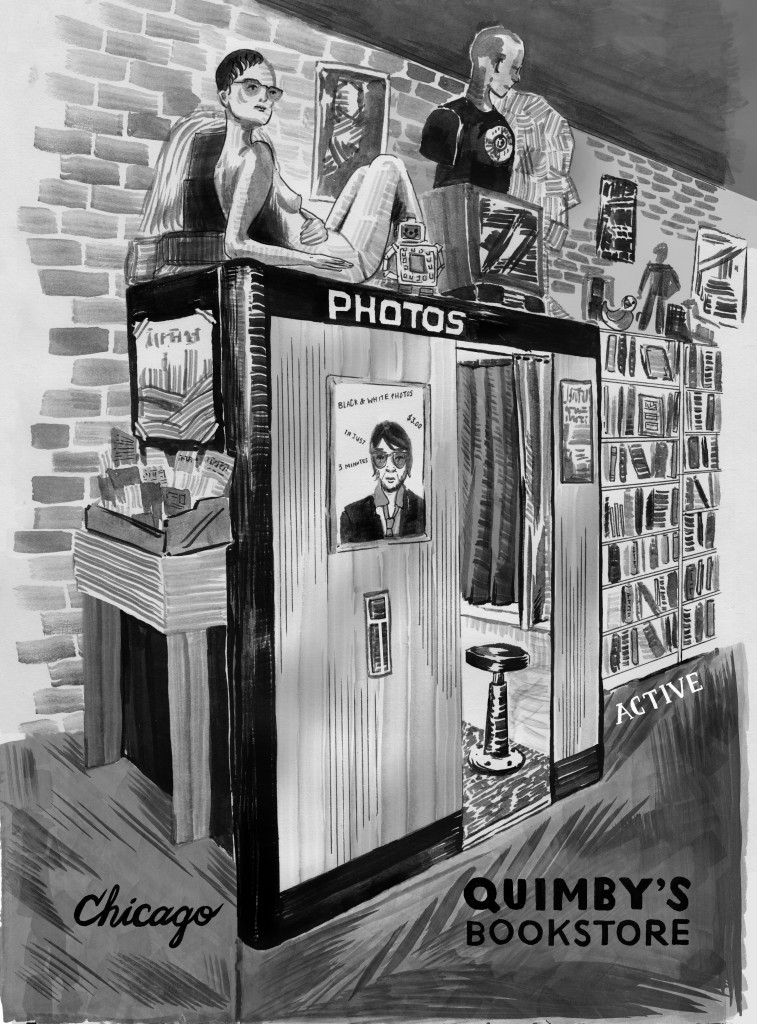 quimby's photobooth portrait