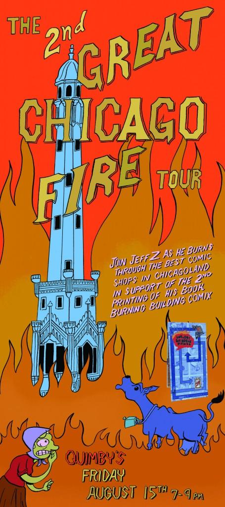 Book Tour Poster - Quimbys Flat