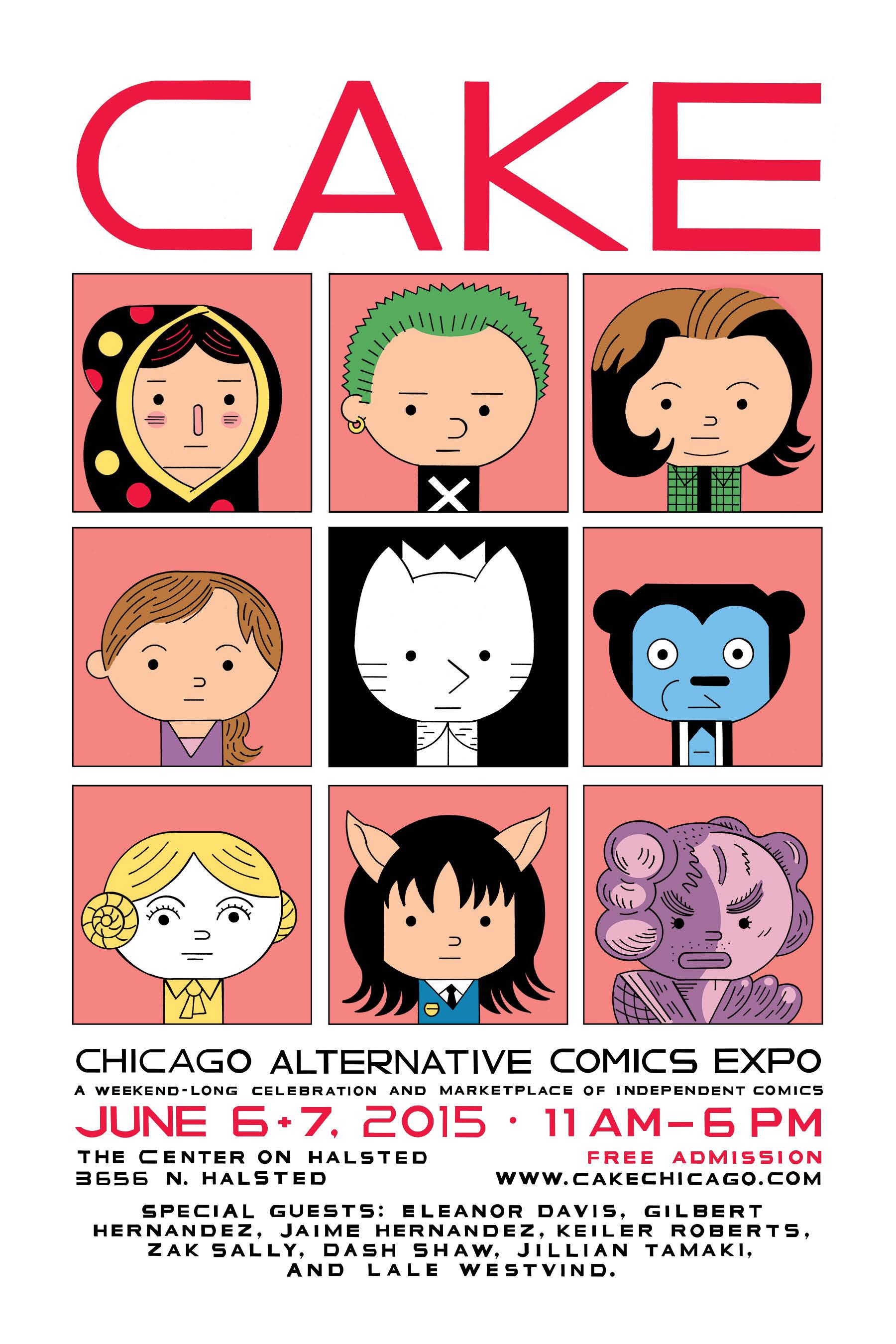 chicago alternative comics expo - 600×927