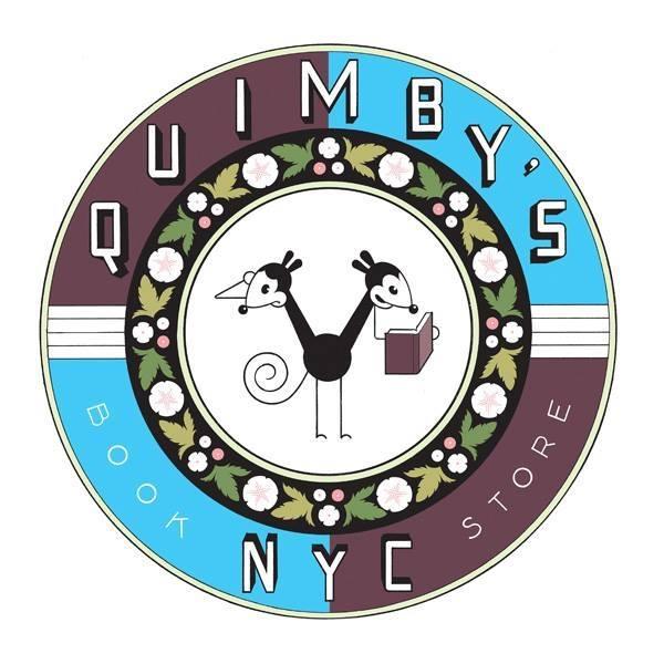 Quimby's Bookstore NYC logo