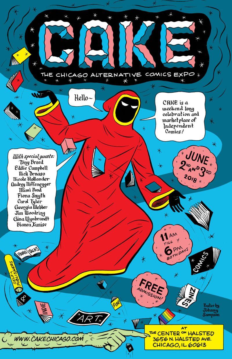 chicago alternative comics expo - HD768×1187