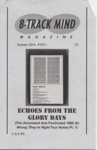 8 Track Mind #103.1 Echoes From the Glory Days