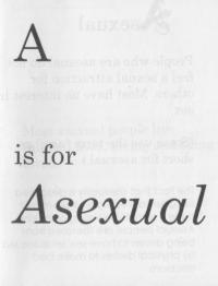 Letter A Is for Asexual