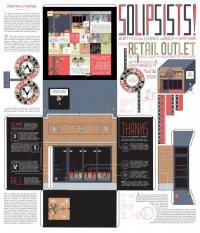 Chris Ware Quimby's 25th Anniversary Print Smaller Size