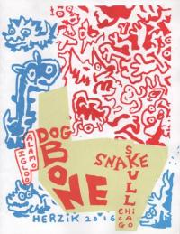 Dog Bone Snake Skull Chicago Alamo Igloo