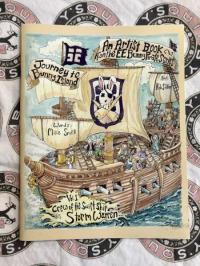 Artists Coloring Book From the EE Bunny Pirate Series