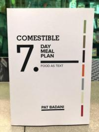 Comestible Seven Day Meal Plan Food as Text