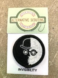 Invisibility Alternative Scouting Merit Badge Patch