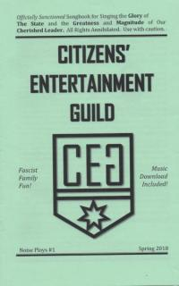 Noise Ploys #1 Citizens Entertainment Guild Official Songbook