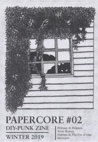 PAPERCORE #02 Win 20 DIY Punk Zine