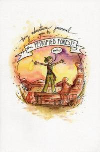 Tiny Adventure Journal Goes to Petrified Forest