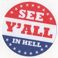 See Y'All In Hell Sticker